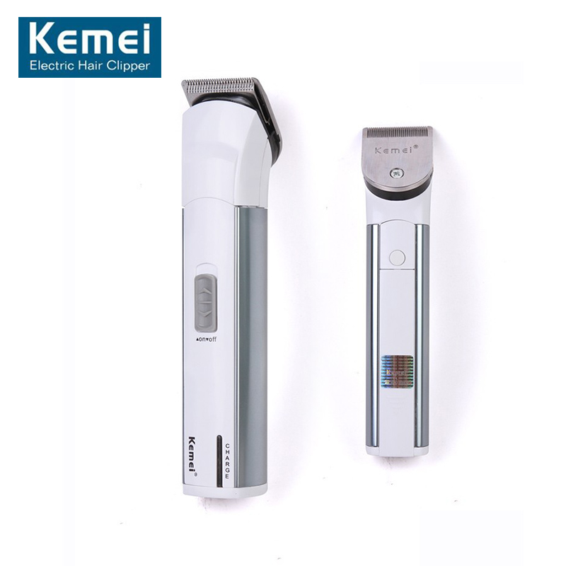 110V-240V Kemei KM-028 Rechargeable Hair Clipper Hair Trimmer Razor Men/women Personal Hair Care EU Plug lonbv lch 8560 12w rechargeable hair clipper 220v 2 flat pin plug