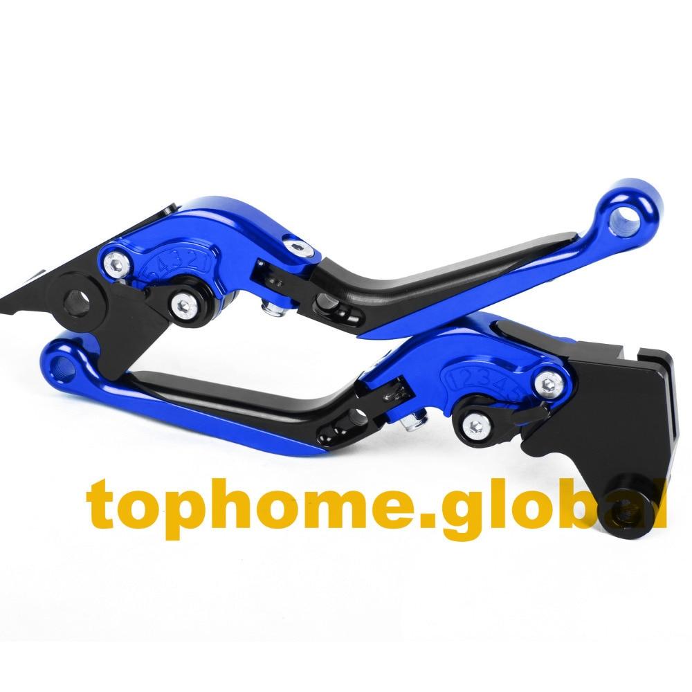 CNC Folding&Extending Brake Clutch Levers For BMW R1200GS ADVENTURE 2006-2011 2007 2008 2009 2010 adjustable long folding clutch brake levers for bmw hp2 enduro 05 06 07 08 2005 2006 2007 2008 megamoto 09 2009