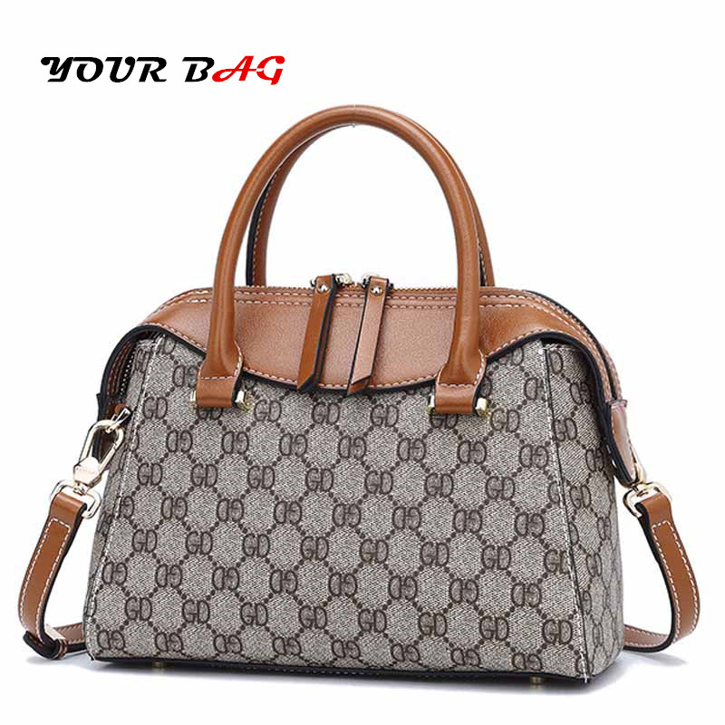 UBAG Fall female bags quality pvc leather soft face women bag DG shoulder messenger bag Quilted flap bag cute Luxury Designers