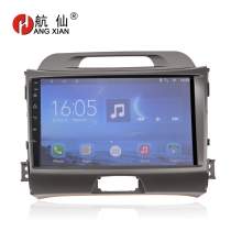 HANGXIAN 9 inch Android 7.0 Car Radio stereo Multimedia Video Player 2 din For KIA Sportage 3 4 2010-2015 car dvd gps navigation funrover android 8 0 9 2 din car multimedia dvd player radio tape recorder for kia k2 rio 2010 2016 wifi gps navigation navi fm