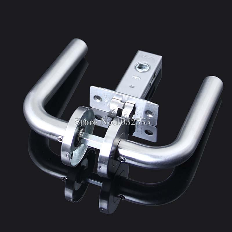 Brand New Practical Stainless Steel Door Handle Lock Door