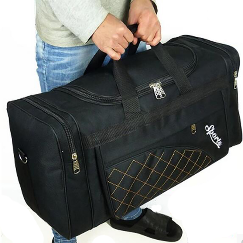 Large Capacity Travel Bags Men Women Waterproof Shoulder Travel Duffle Bags Oxford Cloth Big Travel Handbag Folding Bag For Trip