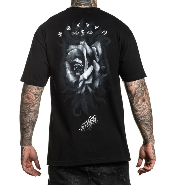 e662e3c10f5 US $11.99 |Sullen Men's Keaps Short Sleeve T Shirt Black Clothing Apparel  Tees Skate-in T-Shirts from Men's Clothing on Aliexpress.com | Alibaba Group