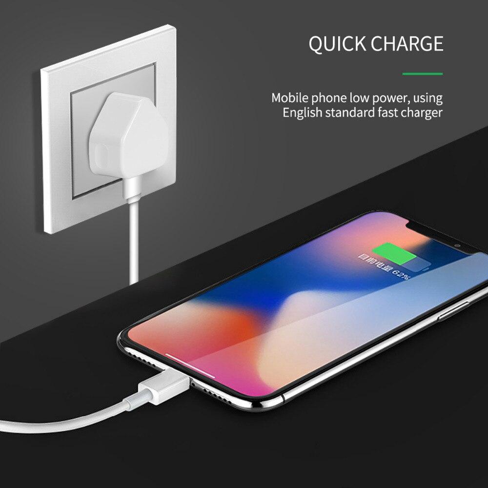 2 порта USB 5 В/1A/2.1A/3.1A адаптер питания 3 PIN штепсельная вилка Великобритании AC настенное зарядное устройство с 1/2/3 USB портами зарядки для iPhone ...