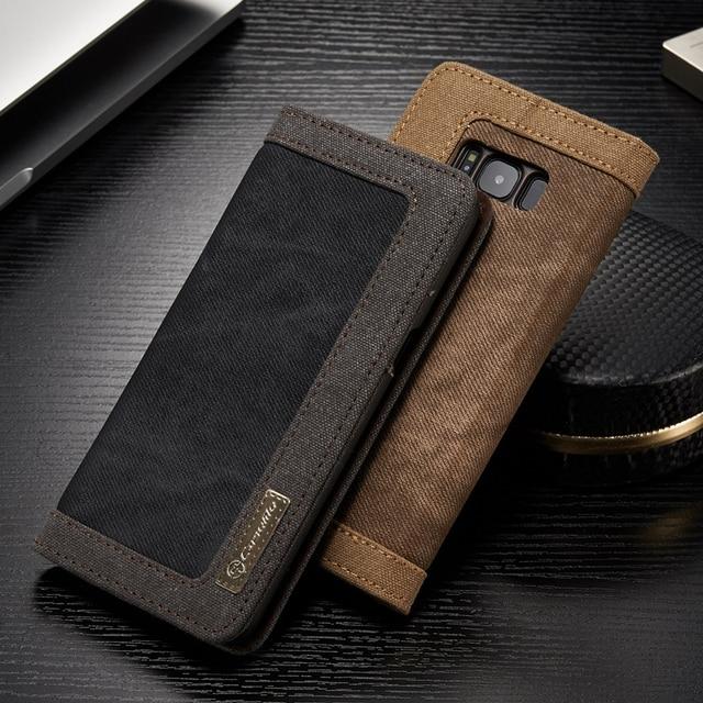samsung s9 plus leather wallet case