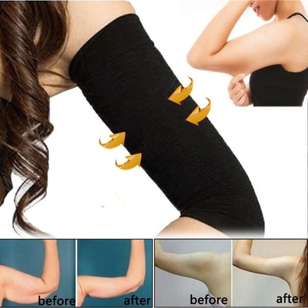 1 Pair Slimming Arm Trimmer Shaper Fat Buster Off Cellulite Sauna Wrap Belt Band