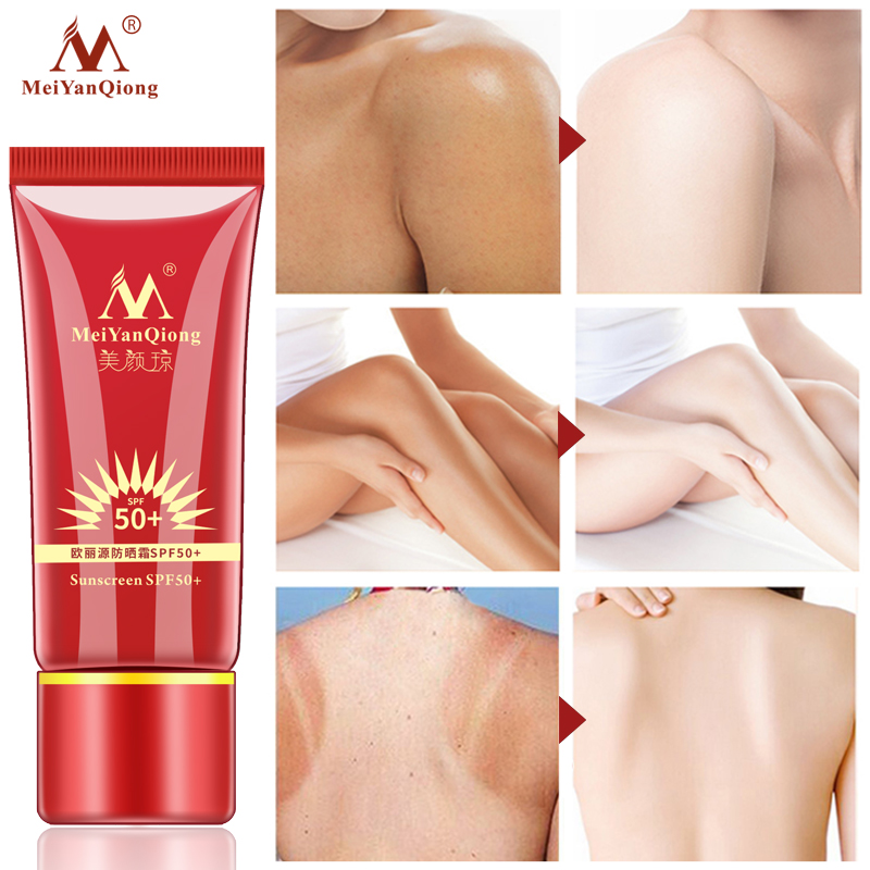 Whitening Repair Sunblock Skin Protective Cream Anti-sensitive Oil-control Moisturizing Isolation Meiyanqiong Sunscreen Spf50 Beauty & Health Beauty Essentials