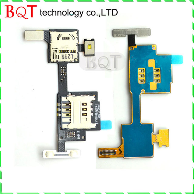Best Quality For LG P940 Sim Memory Card Holder Slot Socket Flex Cable Ribbon