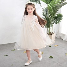 New Summer Princess Baby Girl Clothes Baby Girls Princess Dress Children Girls Summer Party Wedding Dress Kids Dress db3094 dave bella spring baby girls leopard dress girls princess dress wedding party dress