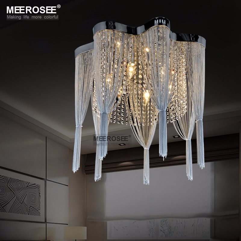 French Chain Chandelier Light Fixture Empire Vintage Hanging Suspension Lustres Light lamparas de techo home lighting MD2608