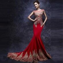 Vestido De Festa A-line Lange Brautkleider Gericht Zug Nach Maß Günstige Kleid Partyabend Elegante 2014 Kleid Vestido De Renda