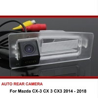 لمازدا CX-3 CX 3 CX3 2014 ~ 2018 كاميرا الرؤية الخلفية عكس الكاميرا سيارة احتياطية كاميرا HD CCD للرؤية الليلية كاميرا السيارة
