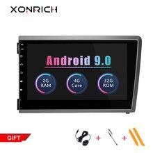Xonrich Автомобильный мультимедийный плеер Android 9,0 для VOLVO S60 V70 XC70 2000 2001 2002 2003 2004 головное устройство автомобильного радиоприемника gps навигации автомобиля DVD
