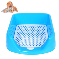 Petacc Detachable Pet Toilet Fence Potty Trainer Practical Dog Indoor Toilet Durable Pet Training Toilet For