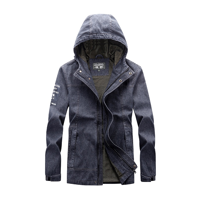 Envmenst Men's Jackets 2017 New Arrival Men's Leisure Jacket High Quality Regular Jacket Washed Fashion Coat For Male