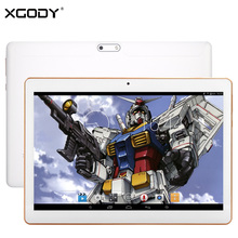 Original XGODY Y3 Tablet PC 10.1 Pulgadas Android 4.4 de Allwinner A33 Quad Core 1G RAM 16 GB ROM IPS Tablet 10.1 WiFi OTG 5000 mAh GPS