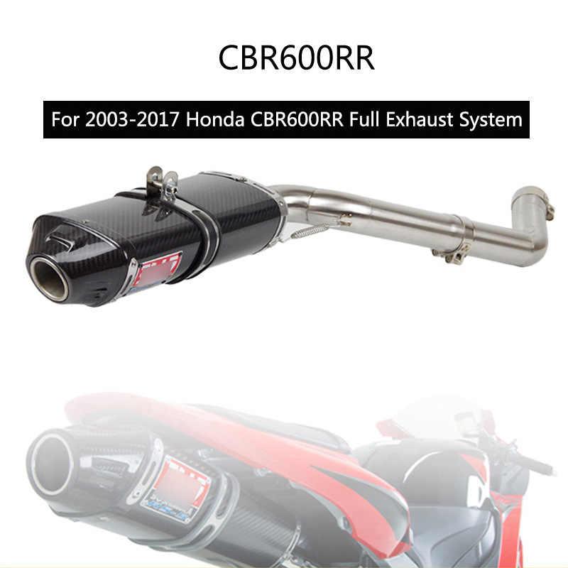 Cbr600 Cbr1000 Motorcycle Exhaust Link Pipe For Honda Cbr600rr F5 03