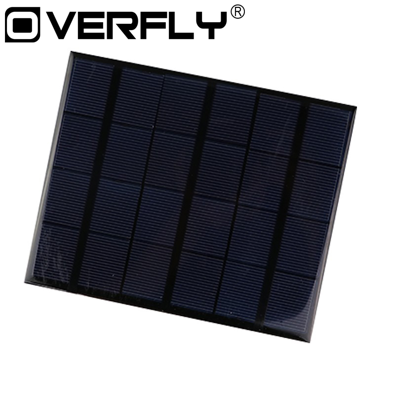Portable Dual Usb Solar Panel Battery Charger 5v 3 6w