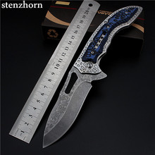 Stenzhorn 2017 Hot Sale High Quality New Outdoor Folding Knife Self-defense Wilderness Survival With Hardness Wild Fruit Bearing