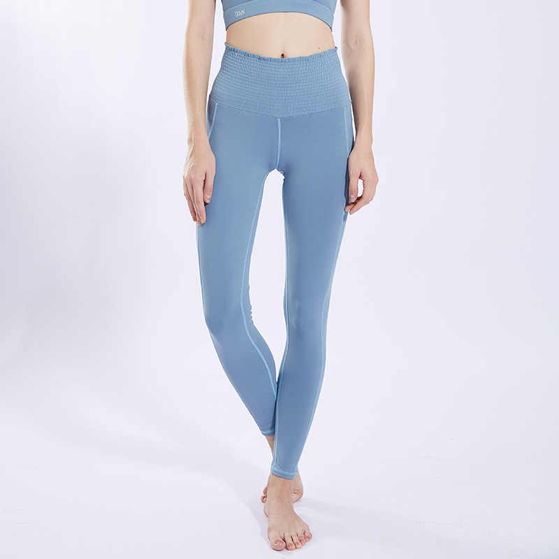 High Waisted Yoga Fitness Trousers Seamless Leggings High Elastic Exercise Tights Women Pants for Fitness Yoga Running Sports