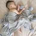 2016 Swaddleme Verano Bebé Manta Aden Anais Bebé Muselina Swaddle Manta Recién Nacido Mermaid Tail Sirena Manta 100*105 CM B114