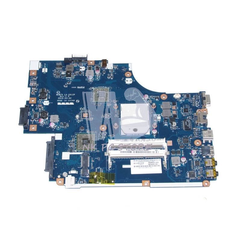 NEW75 LA-5912P Main Board For Acer aspire 5551 5551G E640 Laptop Motherboard DDR3 with Free CPU MBNA102001 MB.NA102.001