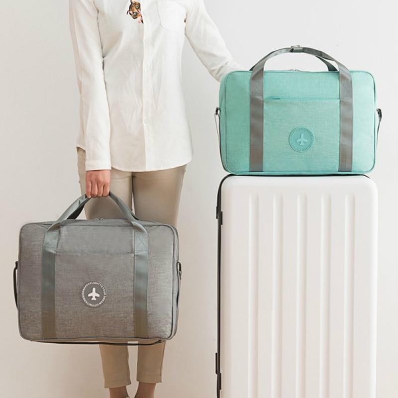 Waterproof Women's Travel Bag Girl's Cute Messenger Handbag Clothes Storage Organizer Shoulder Accessories Supplies Product Gear