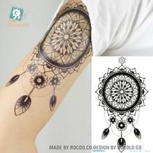 MC 678 2016 Newest Arm Tattoo Waterproof non toxic temporary dream catcher tattoo design big tattoo