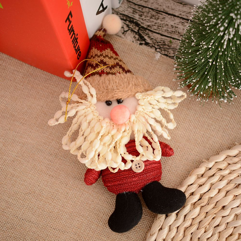 Christmas Tree Hanging Decoration Santa Claus Snowman Xmas Doll Ornaments Gifts New Years Product