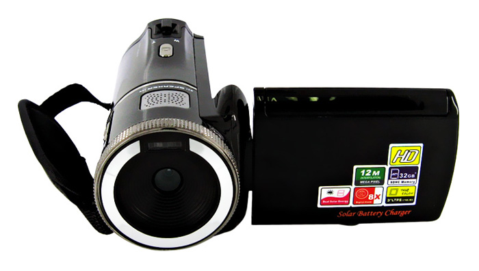 free shipping Digital Video Camera with Support 32GB SDHC Card hp p242va