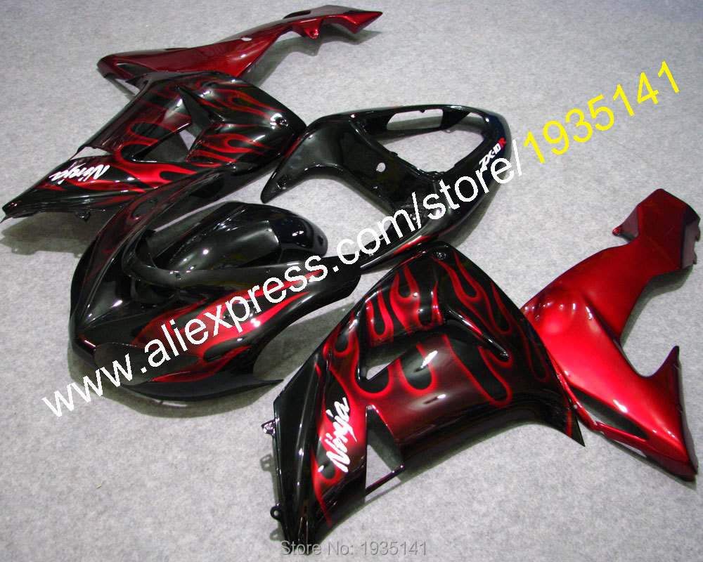 ヾ(^▽^)ノVentas calientes, carenado para Kawasaki Ninja ZX10R 06 ...