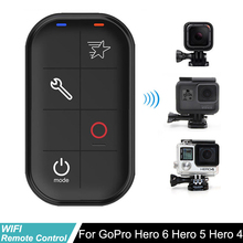 Waterproof Go Pro Hero5 Smart WIFI Remote Control Set Controller Charging Cable for GoPro Hero6 Hero 5 Hero4 Session Hero 3+ bz112 silicone case for gopro hero 3 3 remote controller navy blue
