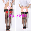 New Fashion Womens Sexy Womens Sheer Lace Top Stay Up Thigh High Hold-Ups Stockings Pantyhose   TP119