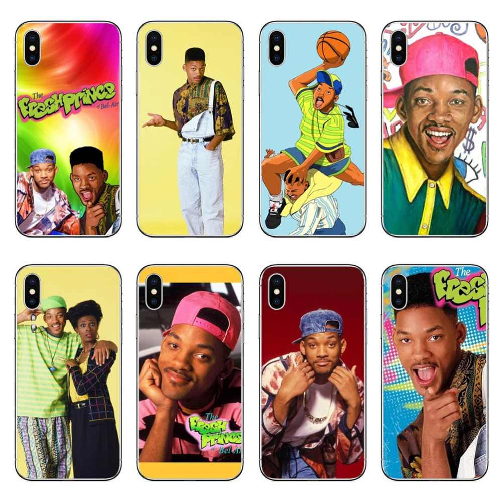The Fresh Prince Of Bel Air Transparent Hard Pc Phone Cases Cover