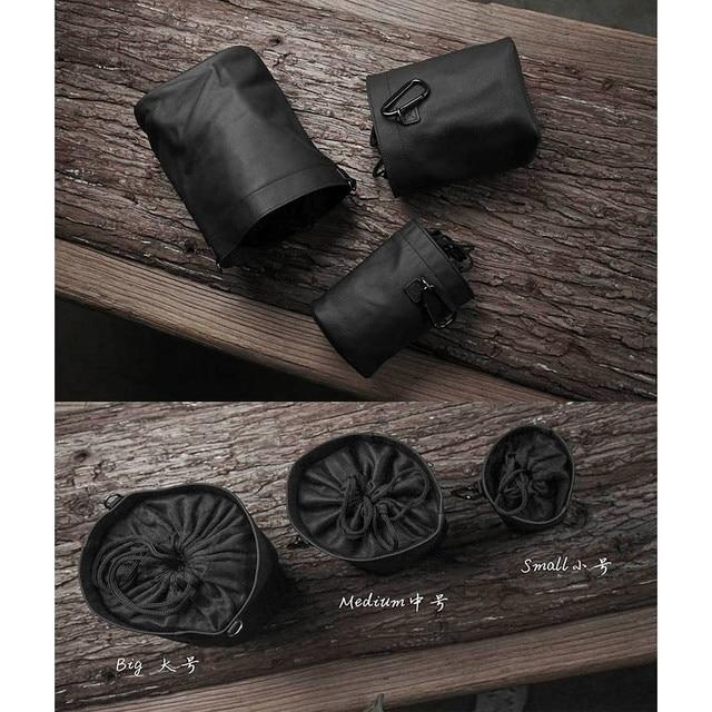 US $26 1 10% OFF|Newest Mr stone Handmade Genuine Leather Camera Case Bag  For FUJI Fujifilm Sony Leica Panasonic Nikon Canon Samsung black color-in