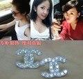 Stud Pendientes Para Mujeres Ear Cuff CC Pendientes de Señora Pendientes de Plata 925 Tachona el Pendiente