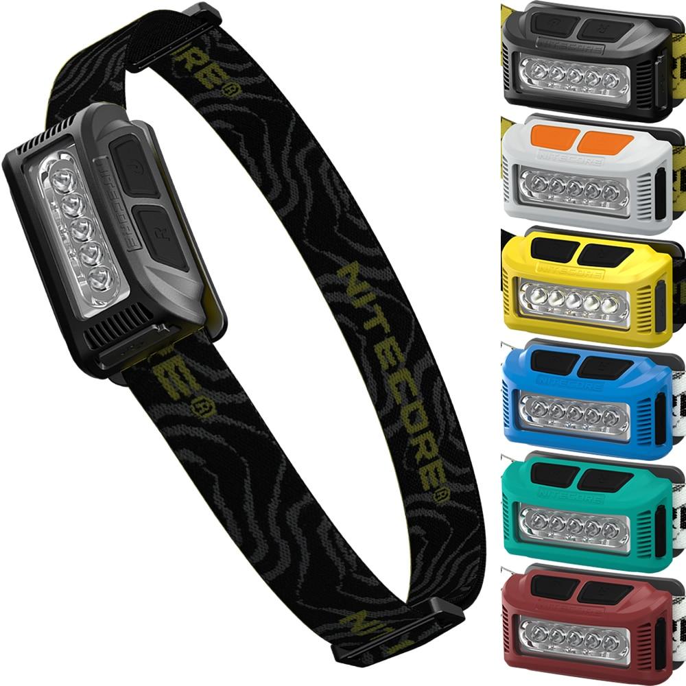 topsale Nitecore NU10 CRI HeadLamp High Performance 5LED USB Rechargeable Li-io Battery  ...