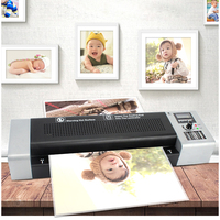 Cold and hot Laminator A3/A4 paper photo Laminating machine photos documents laminator suitable for office home 1000w