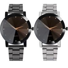 Luxury Watches Women Fashion Crystal Bracelet Wrist Watch Men Mesh Band Quartz Watch Mens Stainless Steel Analog Watch #Zer