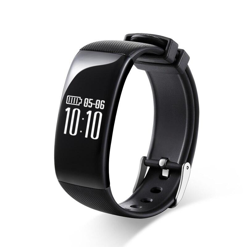 AlfarTec X16 Smart Wristband Heart Rate Monitor Bluetooth Pedometer Sleep Activity Fitness Tracker Waterproof For