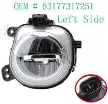 Высокое качество левая сторона LH светодиодный автомобильный противотуманный фонарь 63177317251 для BMW X3 X4 X5 X6 авто ремонт замена освещения
