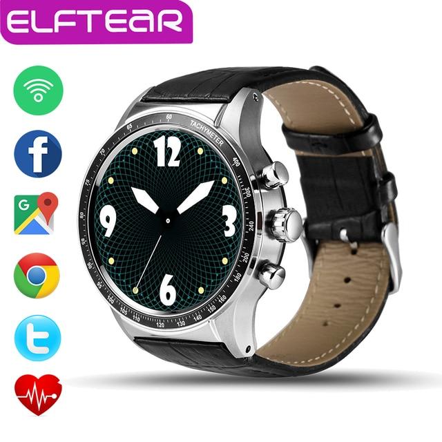 Новый Y3 Android 5.1 MTK6580 Smart Watch Phone 512 МБ/4 ГБ Bluetooth WI-FI GPS Мониторинга Сердечного ритма Наручные PK LEM5 LEM4