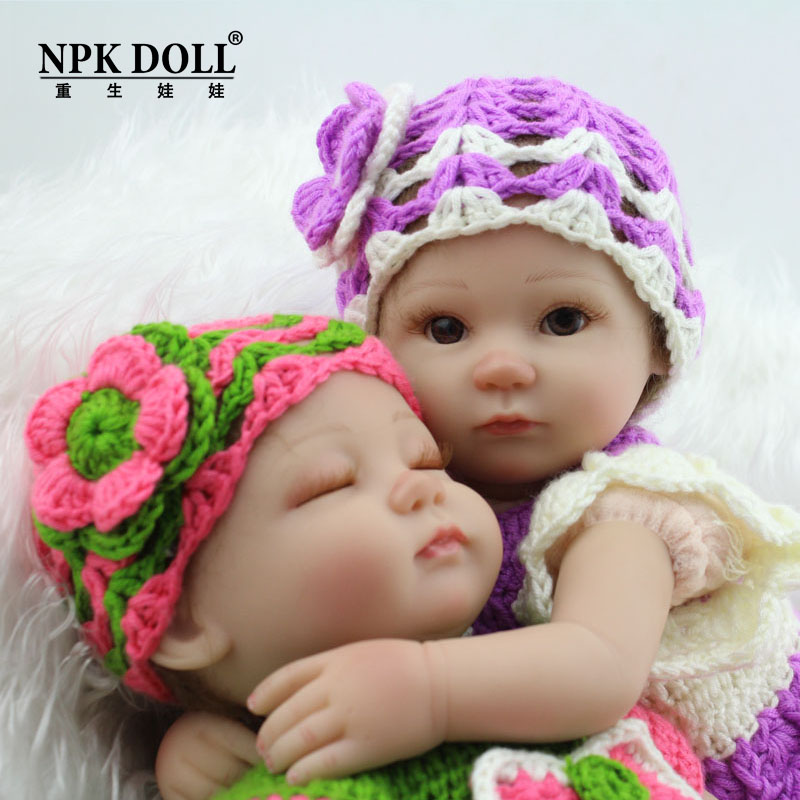 Newest 18 Inch Baby Sleeping Silicone Reborn Dolls Little Girl Boy Shower Dolls Boneca Princess Simulation Toys Brinquedos