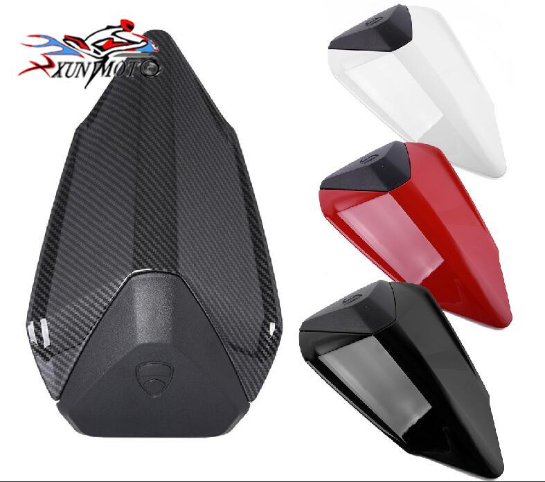 Motorcycle Rear Pillion Passenger Hard Solo Seat Cover Cowl Faring for 2012 2015 Ducati 899 1199 Panigale R S 2013 2014