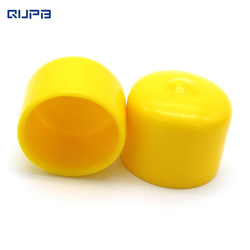 Paintball Regulator Head Thread Cap Grey Yellow Color Option 10pcs Pack Free Shipping PTC002