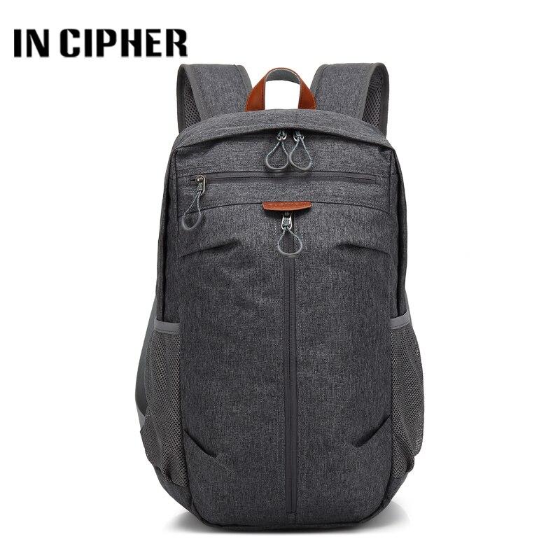 [In Cipher] Fashion Men Travel Backpacks Waterproof Large Backpack Teenagers School Bag Multifunction Anti Theft Backpack