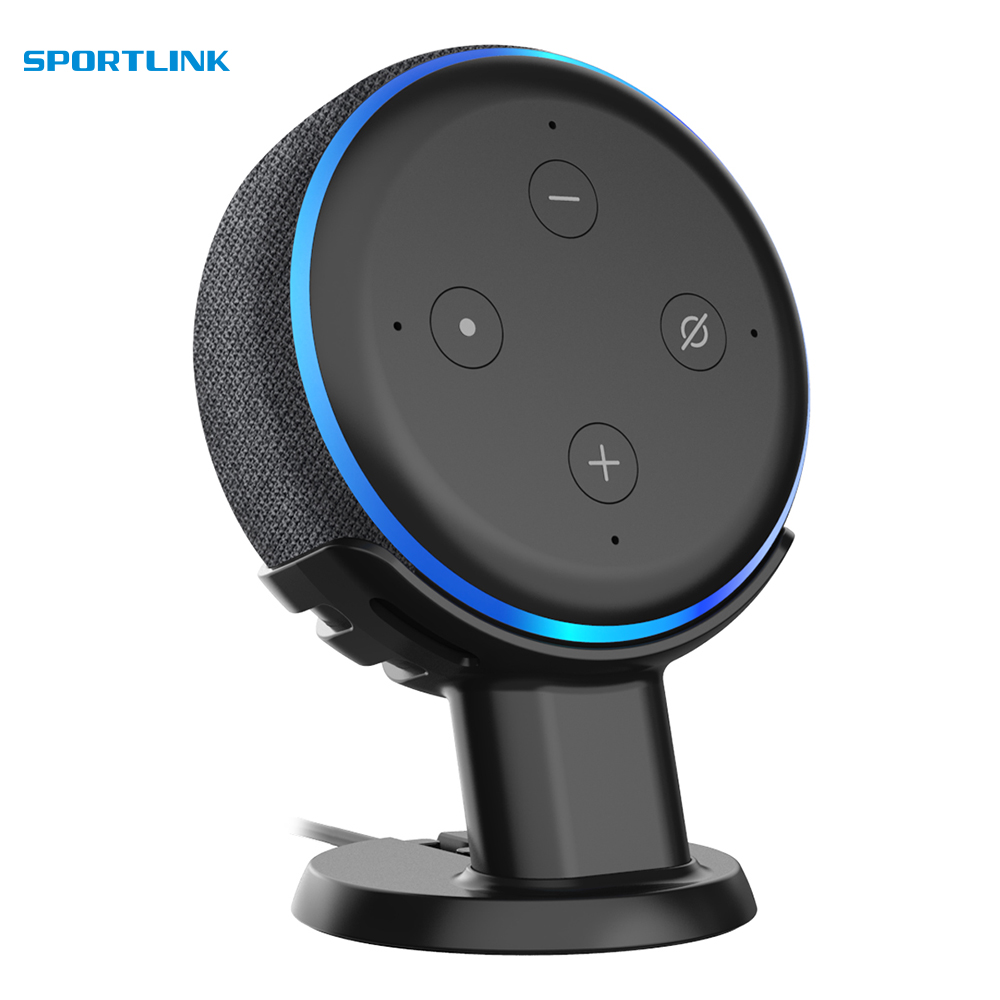 For Amazon Alexa Echo Dot 3rd Generation Holder Mount Stand Case ,Mount Stand Work With Amazon Echo Dot 3