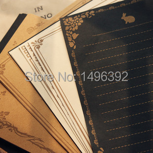 (6 lots/packs) Vintage Letterhead Letter Paper Grocery Wind Writing Paper Stationery