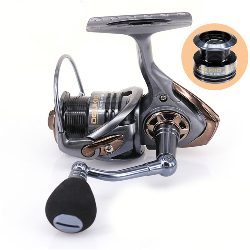 High Quality Spinning Fishing Reel 2000 3000 Series Metal 6BB Sea Fish Wheel Boat Spinning Fishing Tackle