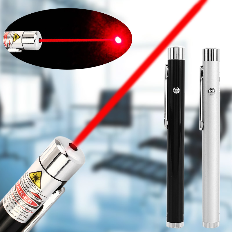 Laser Pointer Pen 532nm Red 5mW Beam Sighting Device Visible Light Signal Lamp Pet Toy Flashlight Electric Torch